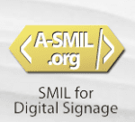 SMIL digital signage