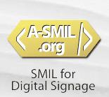 SMIL digital signage