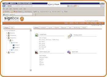 signManager Digital Signage Software